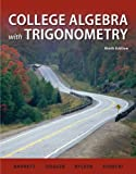 Student Solutions Manual College Algebra with Trigonometry, Barnett, Raymond and Ziegler, Michael, 0077297253