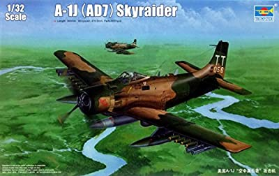 Trumpeter A1J AD7 Skyraider Aircraft Model Kit (1/32 Scale)