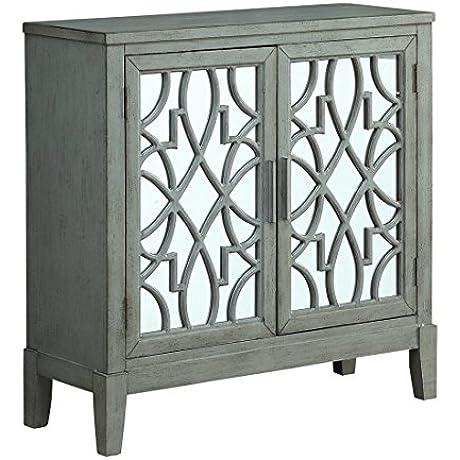 Coast To Coast Wood Cabinets Coast To Coast 13690 Two Door Cabinet 36 X 36 X 14 Inches Gray Model 13690