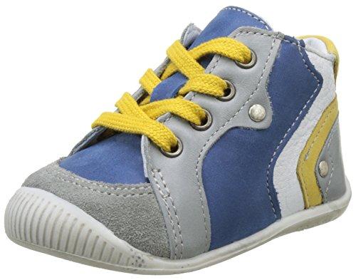 babybotte Baby Jungen Falco Lauflernschuhe Bleu (Bleu)