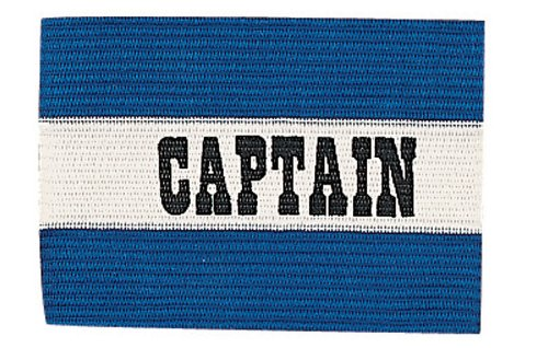 Champion Sports Captain Arm Bands, Blue - Referee Armband