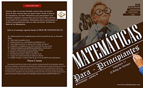 El Reloj Del Tiempo (Volume 11): Matematica Para Principiantes (Spanish Edition)