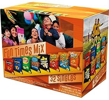 Frito Lay Fun Times Mix, Variety pack ‑ 32 count, 30.375 oz box