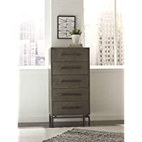 Tommy Hilfiger FDRASCGRYR02 Ascher, 5 Drawer