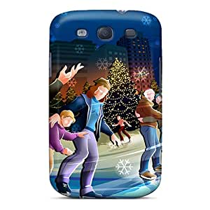 Excellent Design Merry Christmas Celebrations Case Cover For Galaxy S3