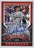 #4: Walker Buehler (Baseball Card) 2015 Panini Elite Extra Edition - [Base] - Prospects Autographs [Autographed] #25