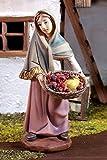Cameriera con cesto di frutta, Adatto per 11 centimetri cifre