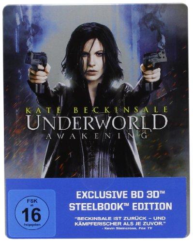 Underworld Awakening-Steelbook 3d Version [Blu-ray]