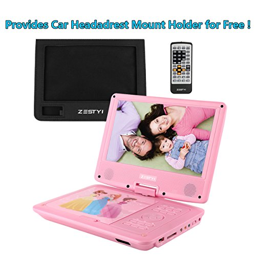 Buy portable dvd player for car headrest best buy