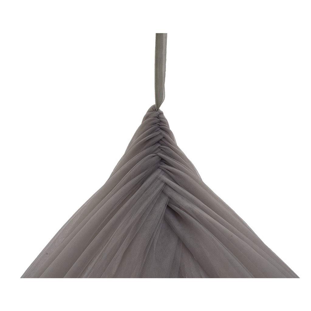 Elegante Prinzessin Dream Dome Bett Moskitonetz, Natürliche Insektenabwehr Vorhänge Bett Canopy Netting Vorhänge Insektenabwehr Für Kinderzimmer Dekoration,grau a738a4