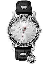 Harley-Davidson Womens Willie G. Charm Wrist Watch 76L173