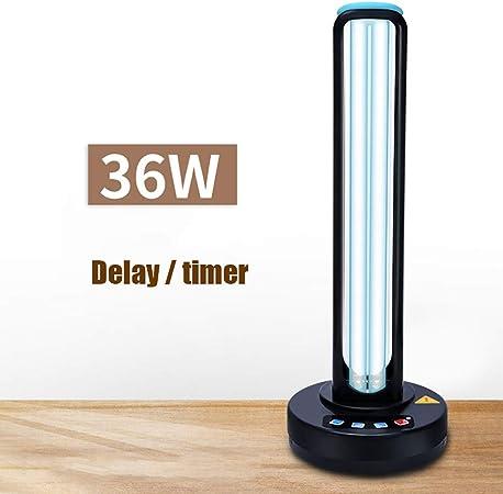 WWJQ Lámpara De Desinfección UV 36W Purificador De Desinfectante ...