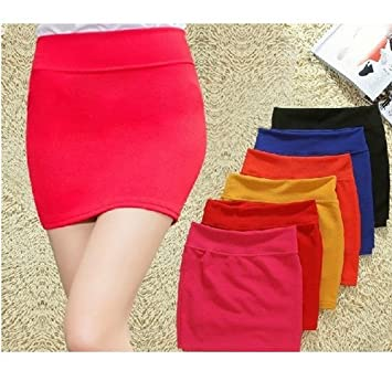 Sexy Fashion Womens Girls MINI Skirt Stretch Tight Short Fitted ...