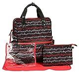 Disney Print Backpack Diaper Bag, Mickey Mouse Script