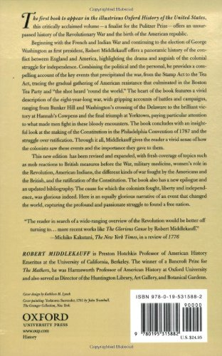 The Glorious Cause: The American Revolution, 1763-1789 (Oxford ...