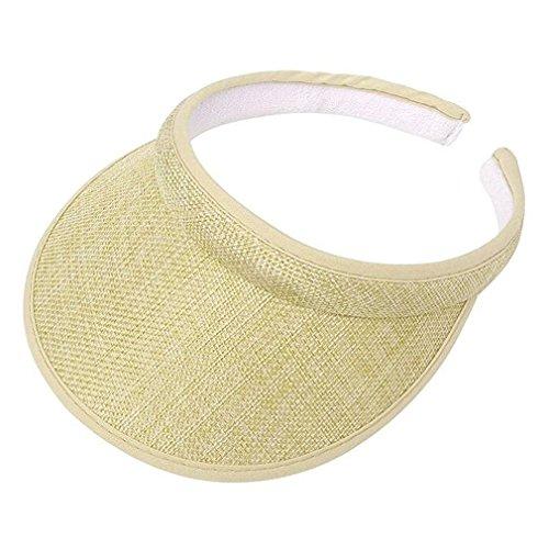 Bersun Natural Ladies Brushed Cotton Twill Clip On (Organic Cotton Visor)