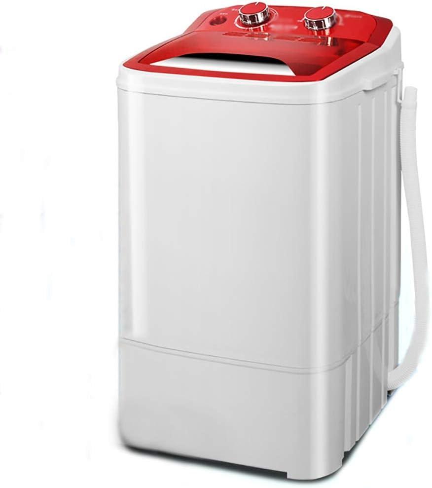 XXYJ Lavadora portatil Práctica pequeña máquina de Lavar, Lavadora portátil pequeña, la casa Semi-automática Lavadora, Ahorro de Espacio, función de Temporizador, el Ahorro de energía (Color : B)