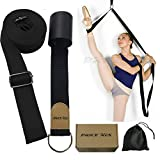 Leg Stretcher, Door Flexibility & Stretching Leg Strap - Great for Ballet Cheer Dance Gymnastics or ANY Sport Leg Stretcher Door Flexibility Trainer Premium stretching equipment