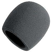 Parabrisas de bola de espuma en el escenario, negro