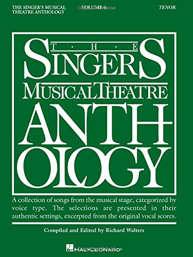 Theatre Anthology, Vol. 4: Tenor (Free Vocal Sheet Music)
