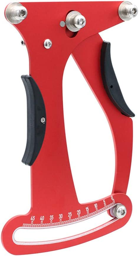 EUGNN Spoke Tension Meter, Aluminum Alloy Measurement Adjustment Tool Durable Bicycle Wheel Tool Bike Accessory
