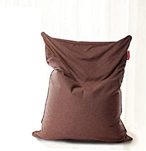Bean Bag Chair, Memory Foam Furniture Big Sofa with Soft Cover, Alternative Seating for Classrooms Daycares Libraries Home, 39.3755.11 inches,Darkbrown