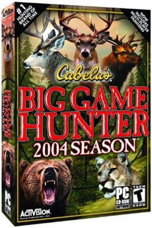 cabela big game hunter 2004 season free