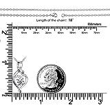 Heart Sterling Silver Necklace for Women CELESTIA