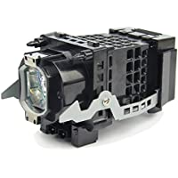 LONGJET Compatible F93087500 / A1129776A / XL-2400 / A1127024A Replacement Lamp for SONY KDF-46E2000 KDF-50E2000 KDF-50E2010 KDF-55E2000 KDF-E42A10,SONY KDF- E42A11,SONY KDF-E42A11E KDF-E42A12U KDF- E50A10 KDF-E50A11 KDF-E50A11E KDF- E50A11E KDF-50E2010-AEP KF-42E200 KF-50E200A Projector Bulb/Lamp with Housing