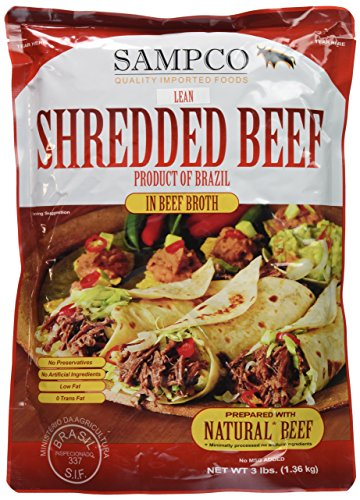 Beef Cooked - Shredded Beef 3lb.