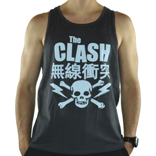 Amplified Tank Top The Clash, Herren, Größe L