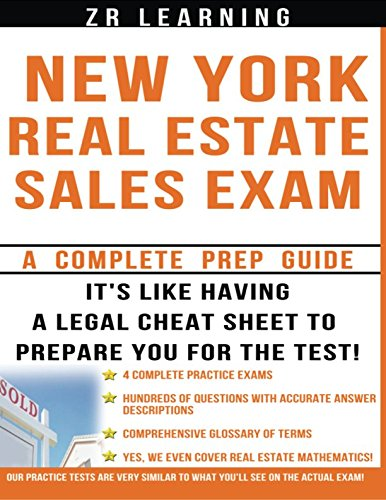 New York Real Estate Exam: A Complete Prep Guide: ZR