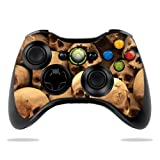 Protective Vinyl Skin Decal Cover for Microsoft Xbox 360 Controller wrap sticker skins Skull pile