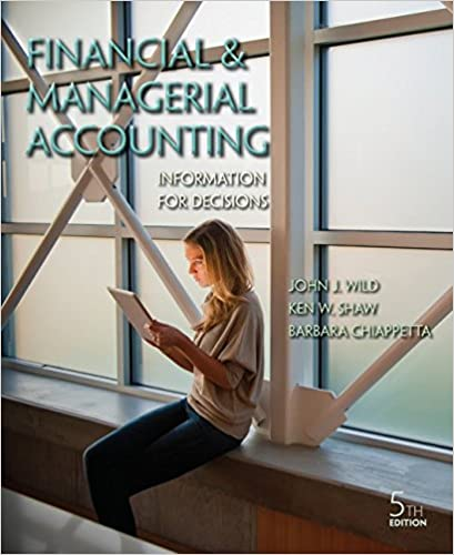 Financial and managerial accounting information for decisions john financial and managerial accounting information for decisions john j wild ken shaw accounting professor barbara chiappetta fundamental accounting fandeluxe Images