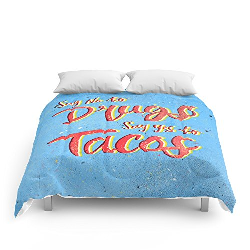Society6 Say Yes To Tacos Comforters Full: 79