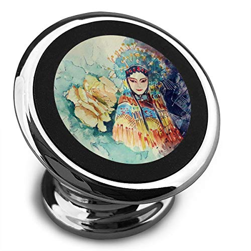 Universal Magnetic Phone Car Mounts Magnet Holder Characters of Chinese Traditional Opera Magnetic Mount for Phone 360¡ã Rotation ()