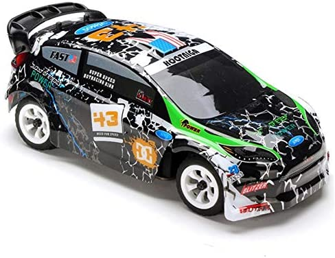 1/28 2.4G Vitesse Télécommande Crazy Drift Racing Buggy 4WD Brossé RC Rally Off Voiture Escalade RTR avec Émetteur Enfant Et Adulte Anniversaire Cadeau De Noël Cadeau-17x8x6 Cm