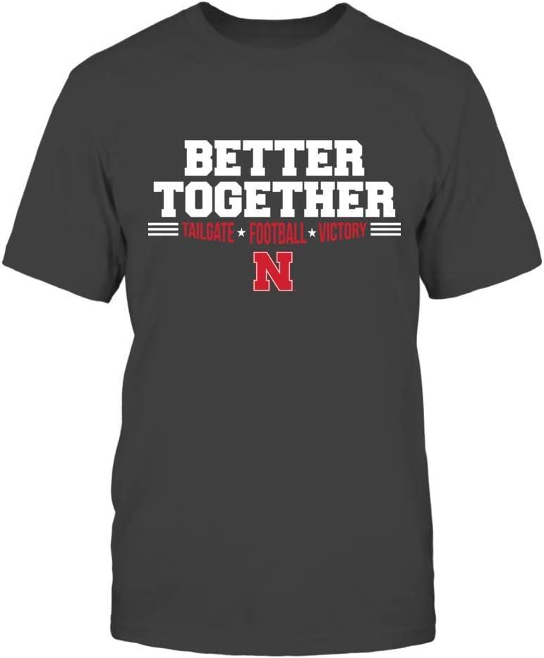 Better Together T-Shirt FanPrint Nebraska Cornhuskers T-Shirt Tank