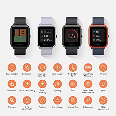 Xiaomi Amazifit Bip A1608 - Smartwatch, Color Rojo: Amazon.es ...
