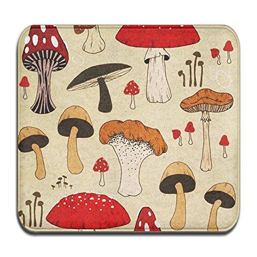 (SWEET TANG The Various Mushroom Art Door Mat Entrance Mat Floor Mat Rug Indoor/Outdoor/Front Door/Bathroom Mats Rubber Non Slip (24