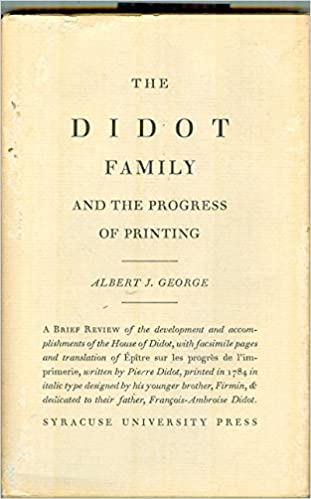 The Didot family and the progress of printing