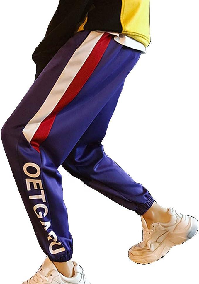 Hombres Trotar Moda Imprimiendo Suelto Hip Hop Deportes Pantalones ...