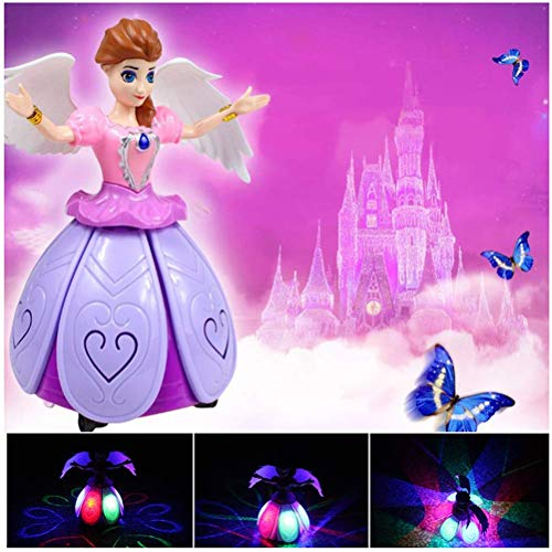 Electric Dancing Princess Fairy Musical Toy With Music Lightening Best Gift For Kids Boys Girls Toddlers Action Figure Toys