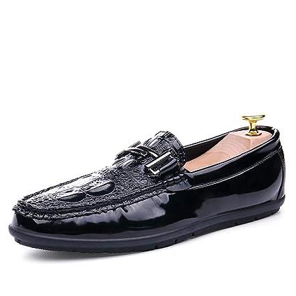 Shufang-shoes, Zapatos Mocasines para Hombre 2018 Mocasines de conducción para Hombres, Estilo