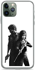 Phone Case The Last of Us - Ellie and Joel Design Compatible with iPhone 6 6s 7 8 X XS XR 11 Pro Max SE 2020 Samsung Galaxy Waterproof Charm