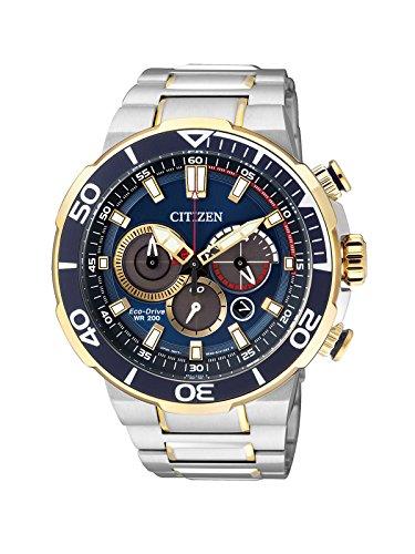 - Men's Citizen Eco-Drive Chronograph Diver's Watch CA4254-53L