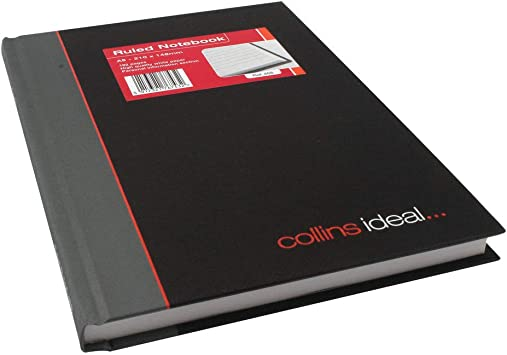 Collins Ideal Book A5 Double Cash 192 Pages 464 Accounts Books