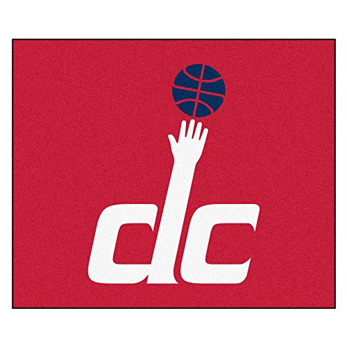 FANMATS 19482 NBA - Washington Wizards Tailgater Rug , Team Color, 59.5''x71'' by Fanmats