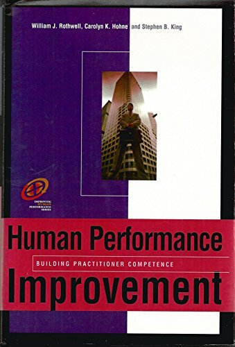 Book cover from Human Performance Improvement: Building practitioner competence (Improving Human Performance)by William J. Rothwell