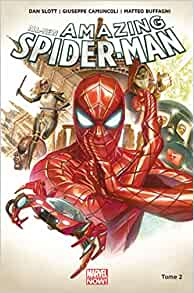 Spider man marvel tilsit editions board game french version new sealed